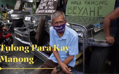 """""""Fundraising for Jeepney Drivers"""""""